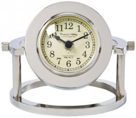 стальные настольные часы